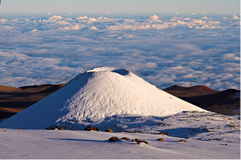 Mauna Kea - The Point Where Earth Mother Meets Sky Father, The Most Sacred Place In Hawai'i And Revered Throughout Polynesia.