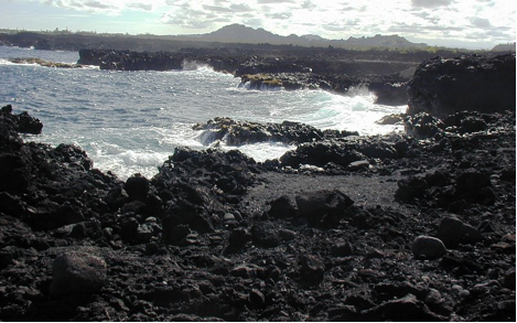 Cape Kumukahi - Eastern Point Of The Hawaiian Islands And First Place In Hawai'i To Welcome The Sunrise.